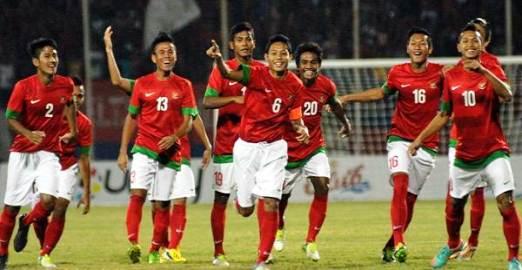 Timnas Indonesia U19 usai menekuk Thailand di Gelora Sidoarjo.