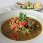 Hotel Santika Mataram siap sajikan menu Tengkleng Kambing dan Soup Buntut.