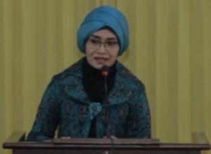 Ketua TP PKK Kota Mataram, Hj Suryani Ahyar Abduh.