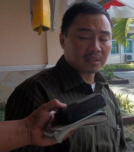 Ketua KPU Loteng, Ary Wahyudi. (Foto: Akhyar Rosidi/Lomboktoday.co.id)