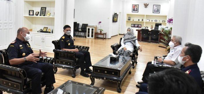 Kunjungan Kanwil DJBC Bali Nusra